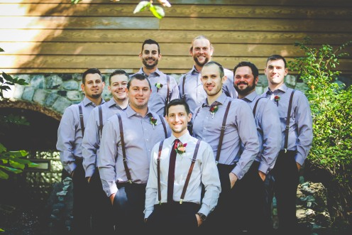 I loved loved loved the groomsmen's attire!