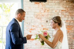 During their first look they exchanged letters to one another